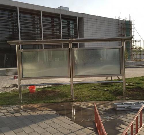 不锈钢展示栏